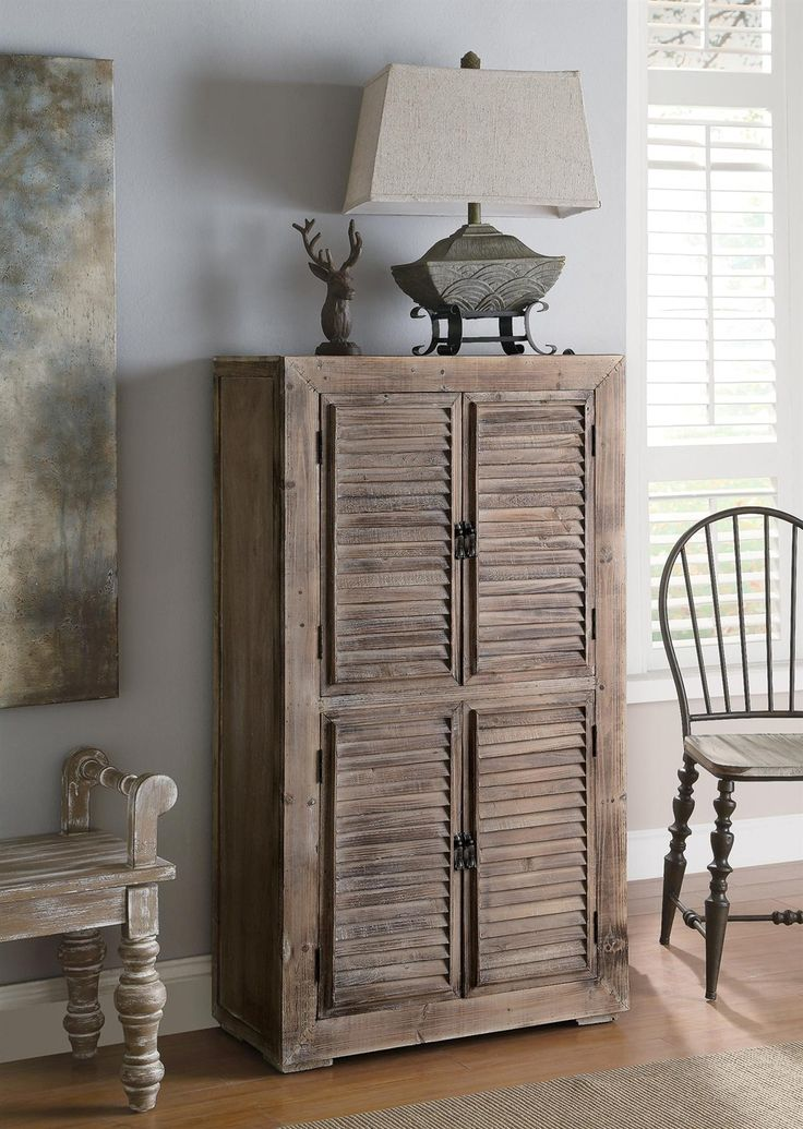 Shutter Cabinet from the Crestview Collection