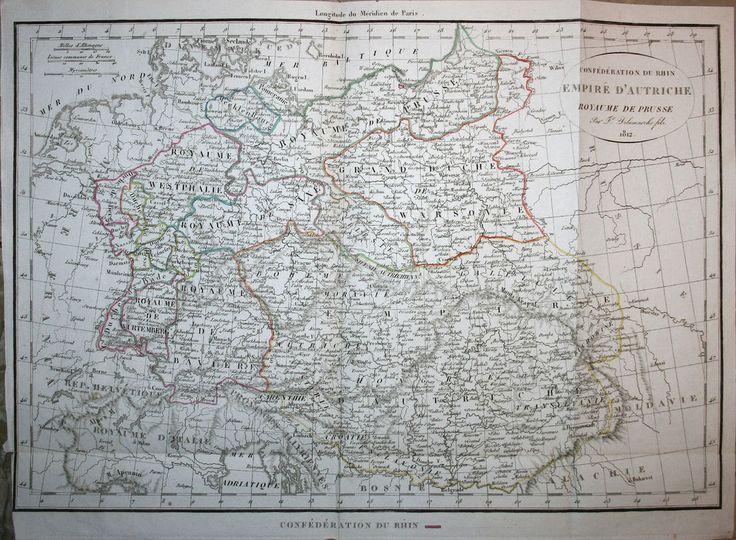Germany Poland Belarus Ukraine Austria Hungary Slovenia - Delamarche 1826