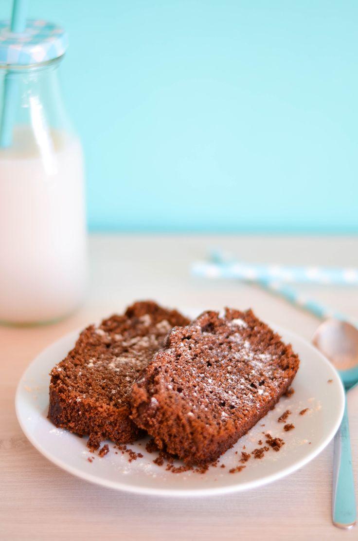 Cake au Chocolat Réconfortant (vegan & sans gluten)