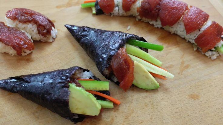 Vegan Tomato Tuna Sushi Recipe