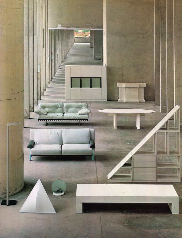 Aldo Rossi, Furniture, 1981