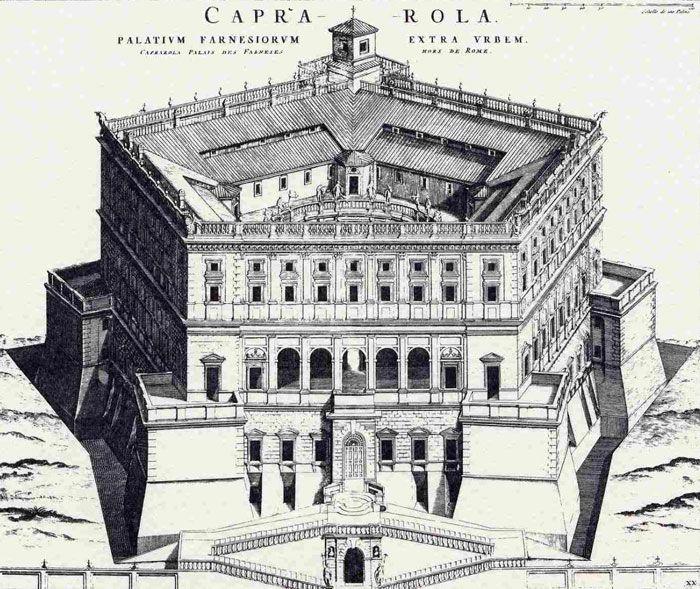 palazzo farnese, capriola