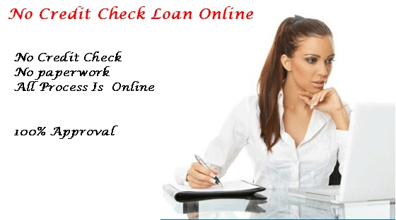 get money without any paperwork, no credit check loan online will arrange loan services without any credit check easily.
