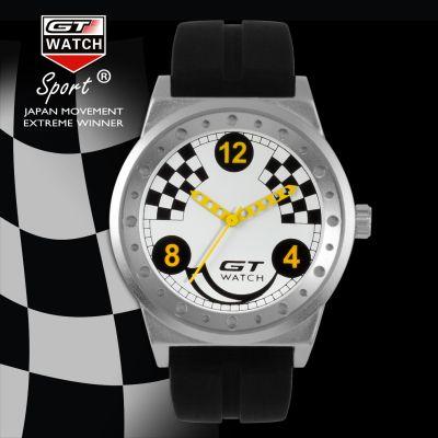 New Fashion Men Sport Watch Luxury Brand GT Watch Silicone Strap Quartz-Watch F1 Watches Male Horloge Clock reloj hombre Love it? Get it here