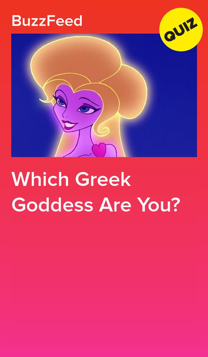 Which Greek Goddess Are You? | Quizzes | Playbuzz quizzes