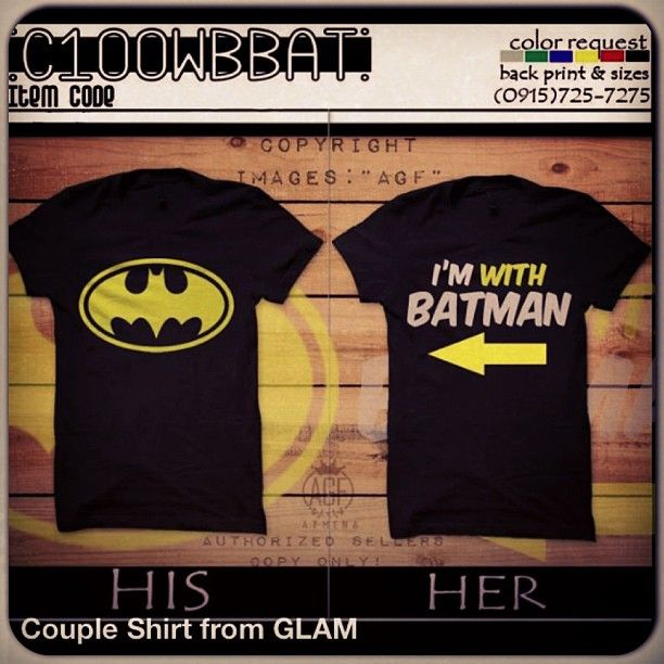 I would so wear this with my bff! I would b batman of course;)