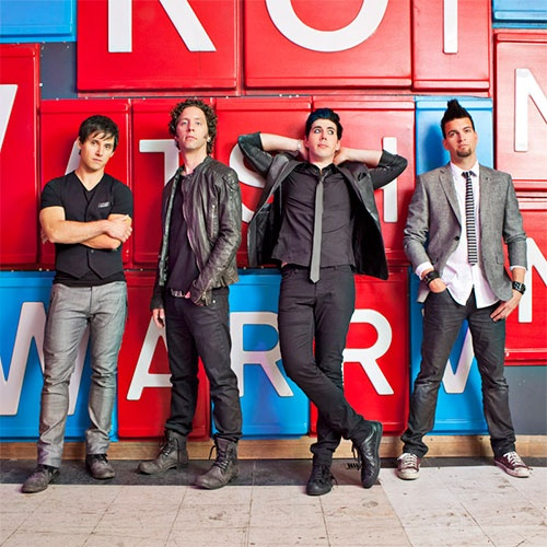 Marianas Trench. This band helped me become who I am today. I have their lyrics tattooed across my skin.