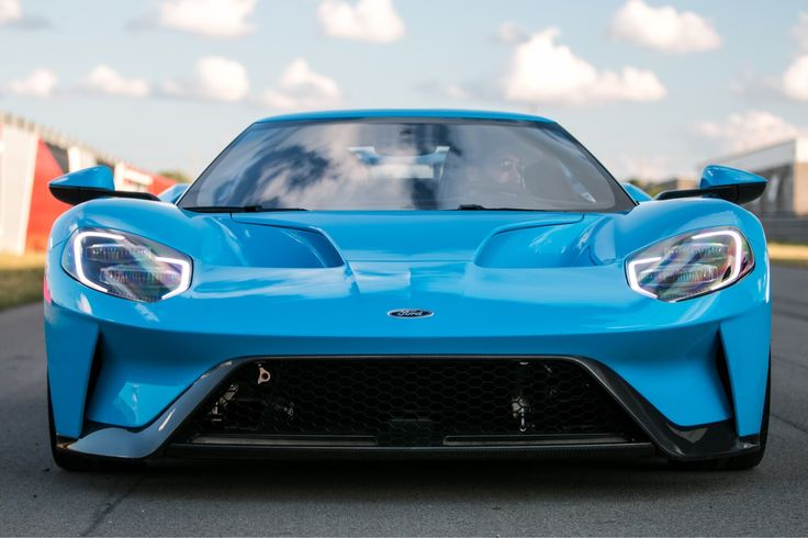 2017 Ford GT 1 of 1 Riviera Blue owned by the creator of the Ford GT Forum. | American Supercars ...