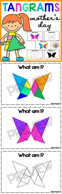 Tangrams for Mother's Day