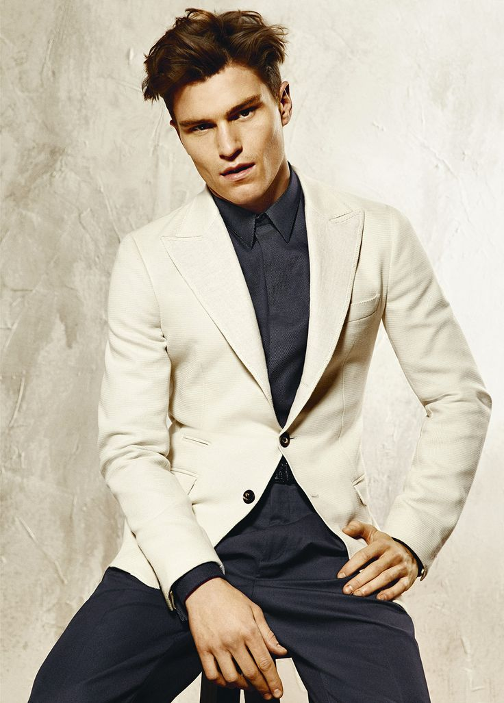 Cream Blazer Jacket Mens | Fashion Ql