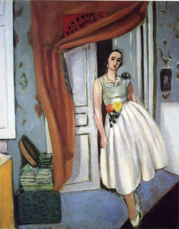 Matisse precioso...quién pudiera saber dibujar tan lindo...