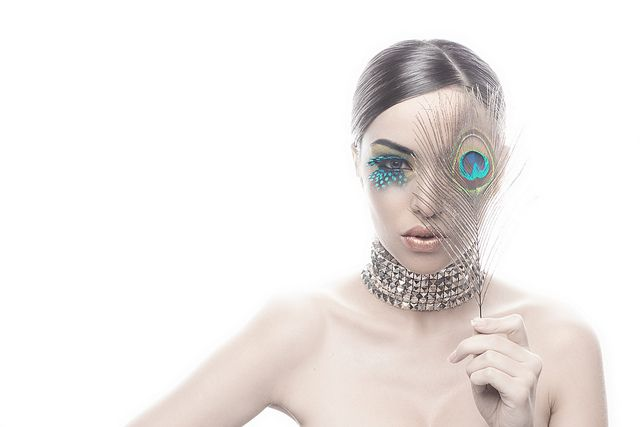 Beauty Photography Portraits mask