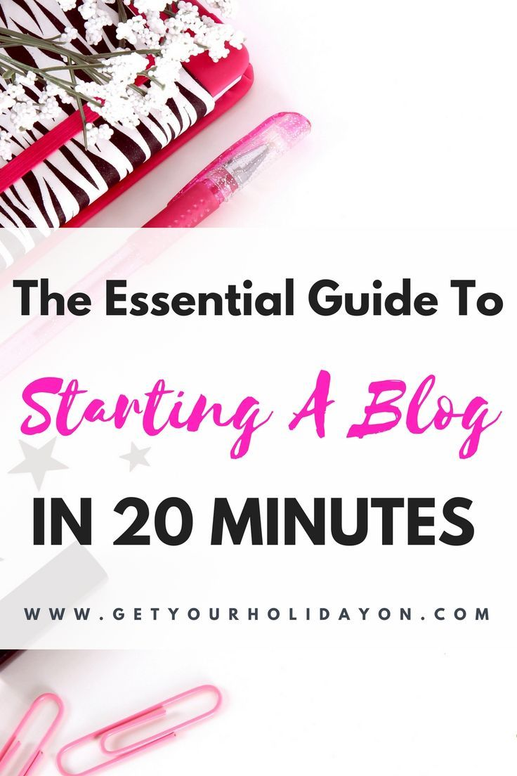 This is a fantastic beginner's guide for starting a blog. I was able to get my blog set up and going within twenty minutes. Cassie even showed me how to figure out my mom blogging niche and get a free domain name for a year!