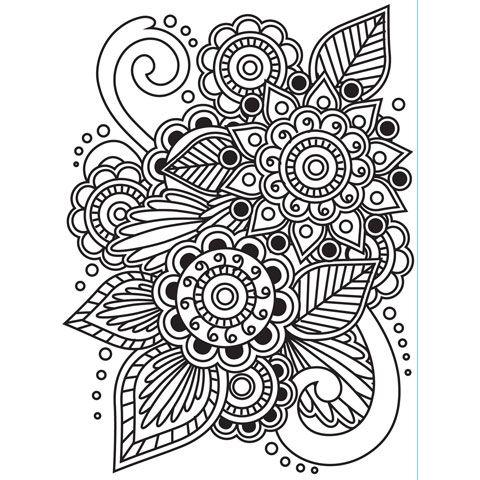 Darice® Embossing Essentials 4.25 x 5.75 inch Embossing Folder - Henna