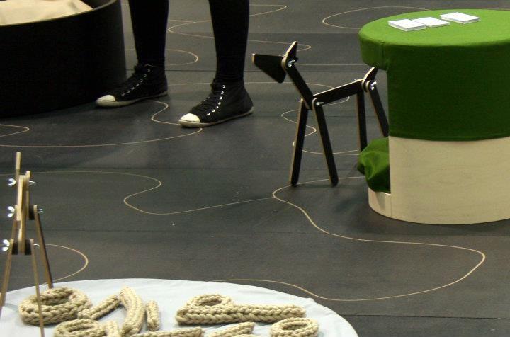Neroko pop-up in Habitare Design & Interior Fair