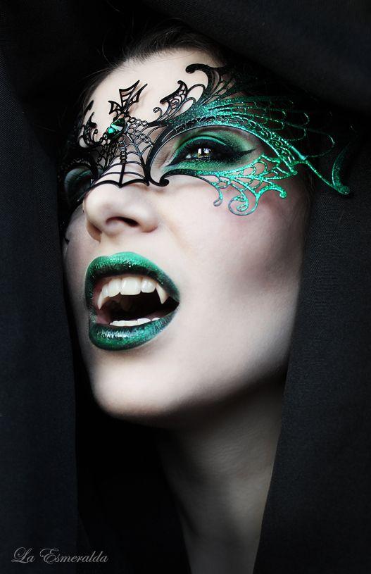 Night of the Dragon Ghotic Halloween Makeup