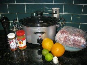 Pork Shoulder in the Crock Pot