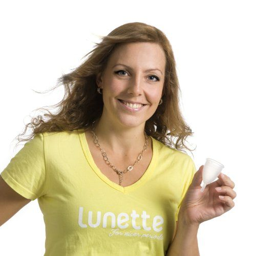 Lunette Menstrual Cup - Clear Model 1 | Health Fitness Superstore List Price: $39.95 Discount: $0.00 Sale Price: $39.95
