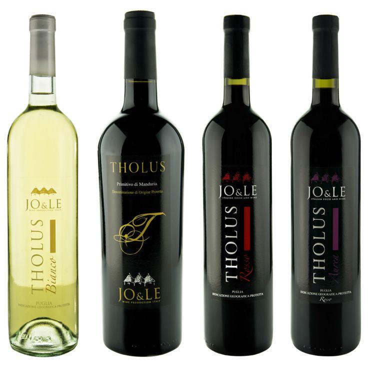 http://www.jo-le.eu/?product=poker-tholus #vini #wine #tholus #joele #acquisti #ecommerce #Primitivo #Verdeca #Negramaro #Puglia #Alberobello