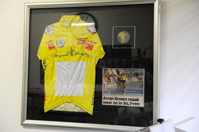 arran's yellow jersey 2011 94.7...
