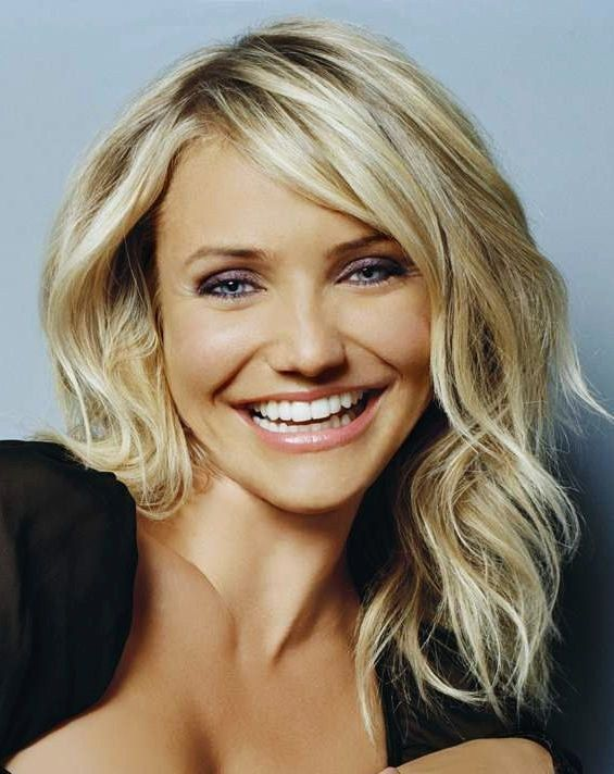 Cameron Diaz. Loved her hair in The Other Woman. Perfect.                                                                                                                                                                                 More