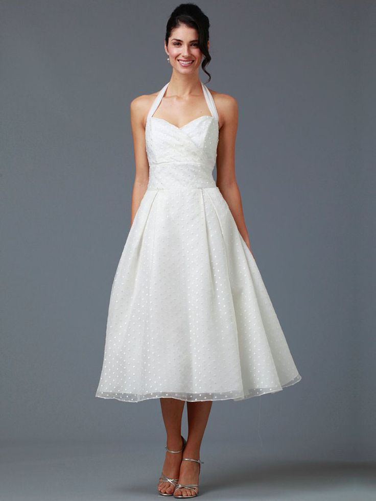 Best kate edmondson couture bridal cap sleeves high neck lace overlay tea length sheath wedding dress with fascinator