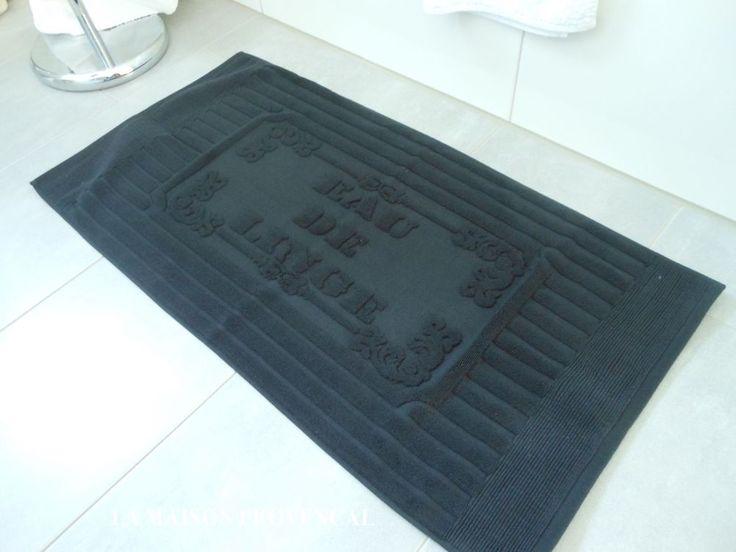Die besten 25+ schwarze Badematte Ideen auf Pinterest Handtuch - badezimmerteppich kleine wolke