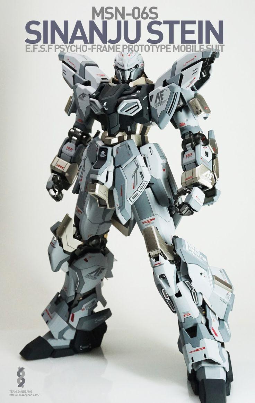 GUNDAM GUY: MG 1/100 Sinanju Stein - Painted Build