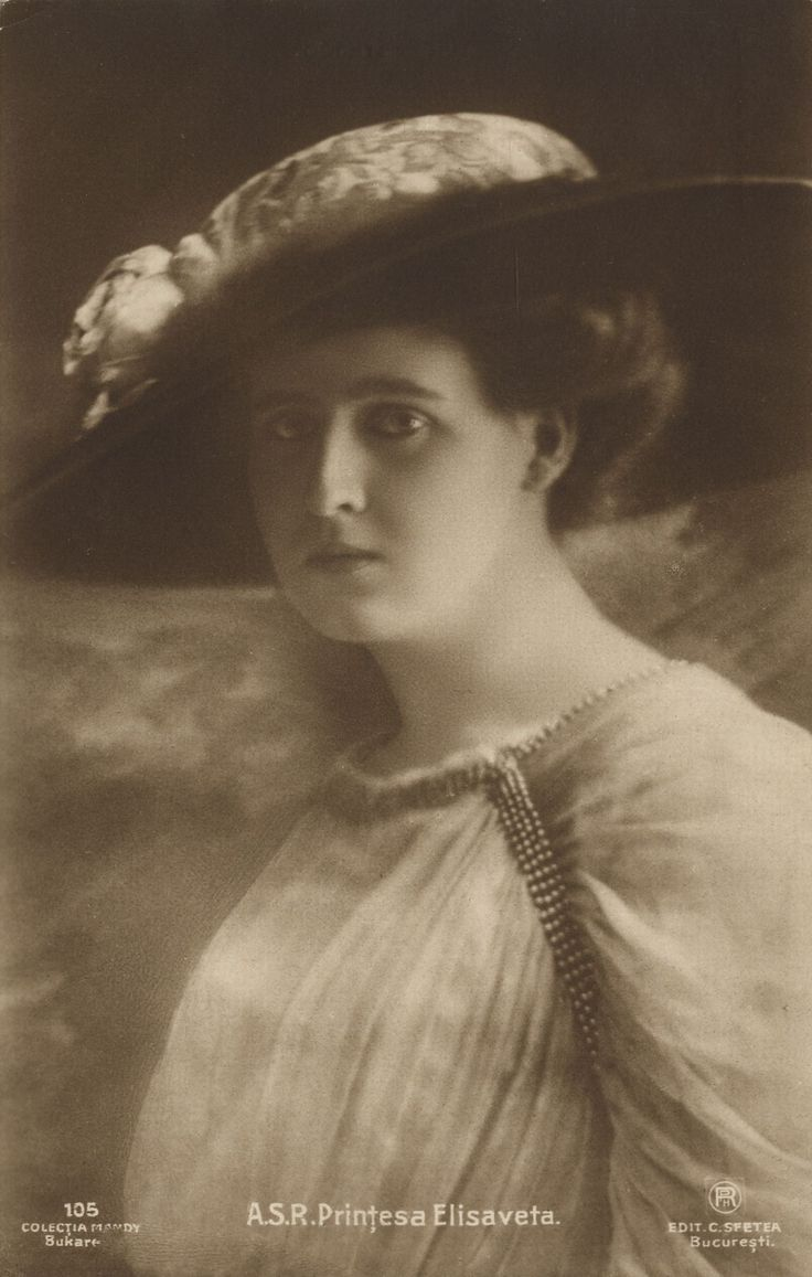Princess Elisabeth (Elisaveta) of Romania.