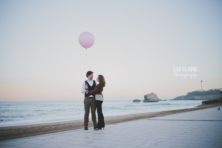 Seance Engagement a Biarritz | Ela & the Poppies Photography | Photographe Mariage Lyon Rhone Alpes | Photographe Mariage Biarritz Cote Basque | International Wedding Photographer