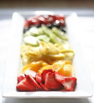 rainbow fruit cake