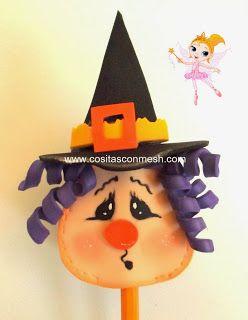 Manualidades Halloween paso a paso : cositasconmesh