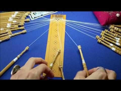 Mis primeros Guipures. Proyecto de Aprendizaje. 2ª Parte. Raquel M. Adsuar - YouTube
