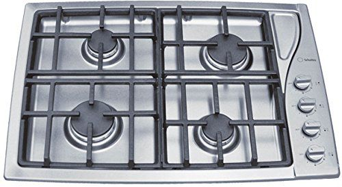 "#manythings The #Scholtes 30"" (76.2 cm) gas cooktop features two easy-to-remove and clean die cast grates. Four powerful burners of optimal size provides more th..."
