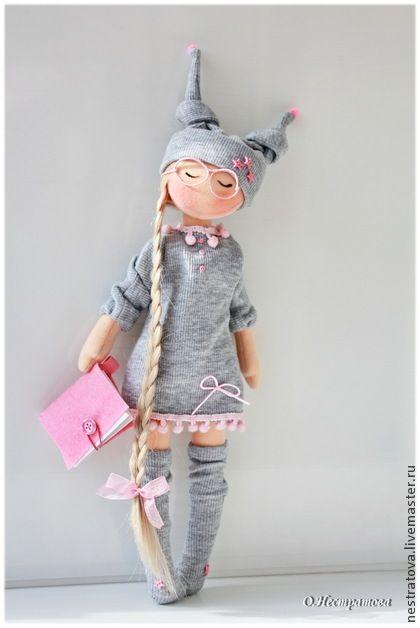 """Текстильная кукла """"Сказки на ночь"""". Handmade."""