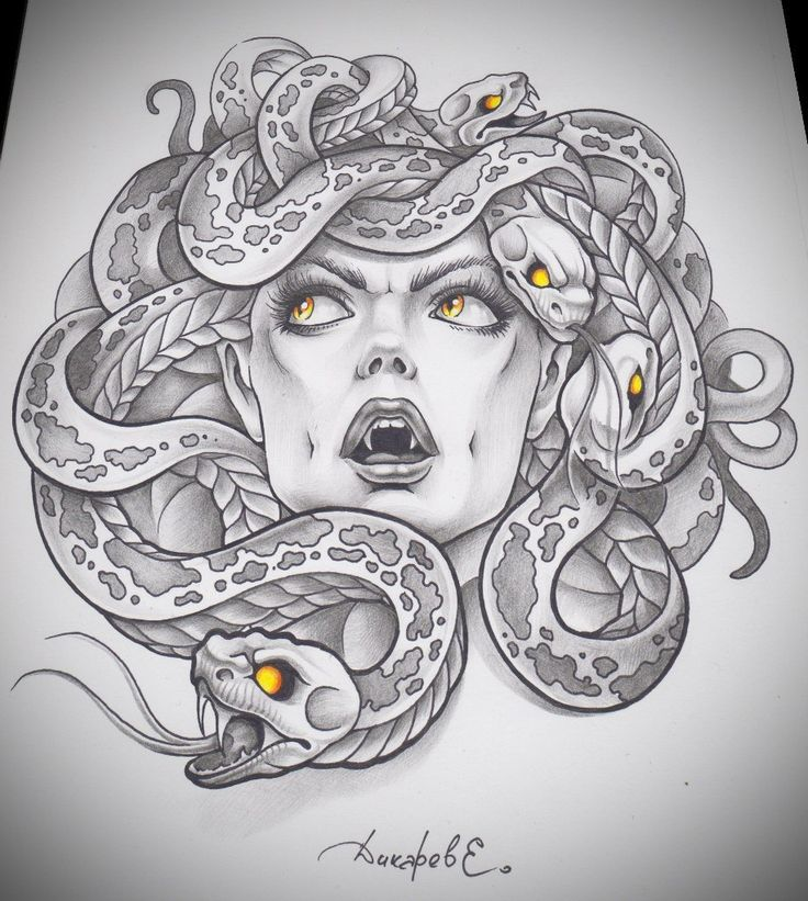 tattoo tatoo medusa tattoo neat tattoo tattoo s drawings tattoo motive ...
