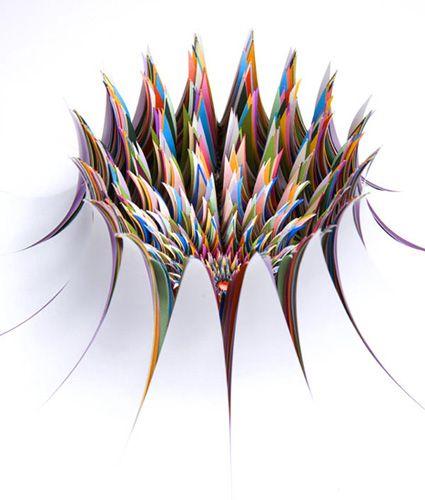 Best Paper Art Images On Pinterest Paper Art DIY And Amazing Art - Mesmerising hand crafted paper sculptures jen stark