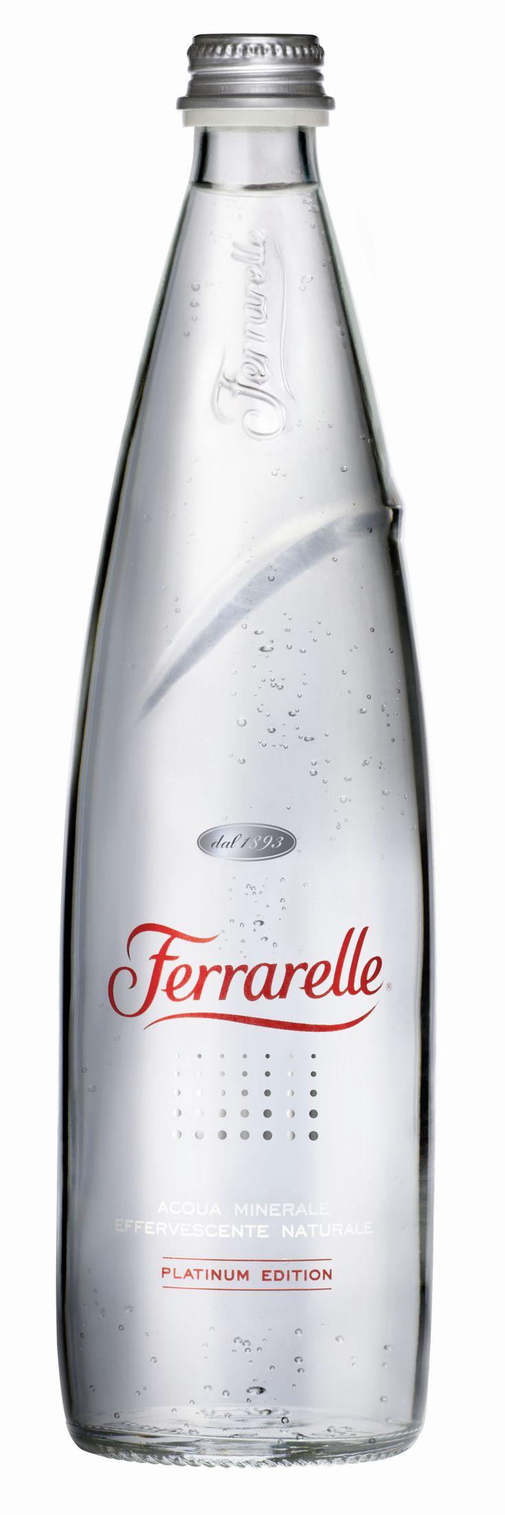 Ferrarelle Platinum Edition Water Packaging.