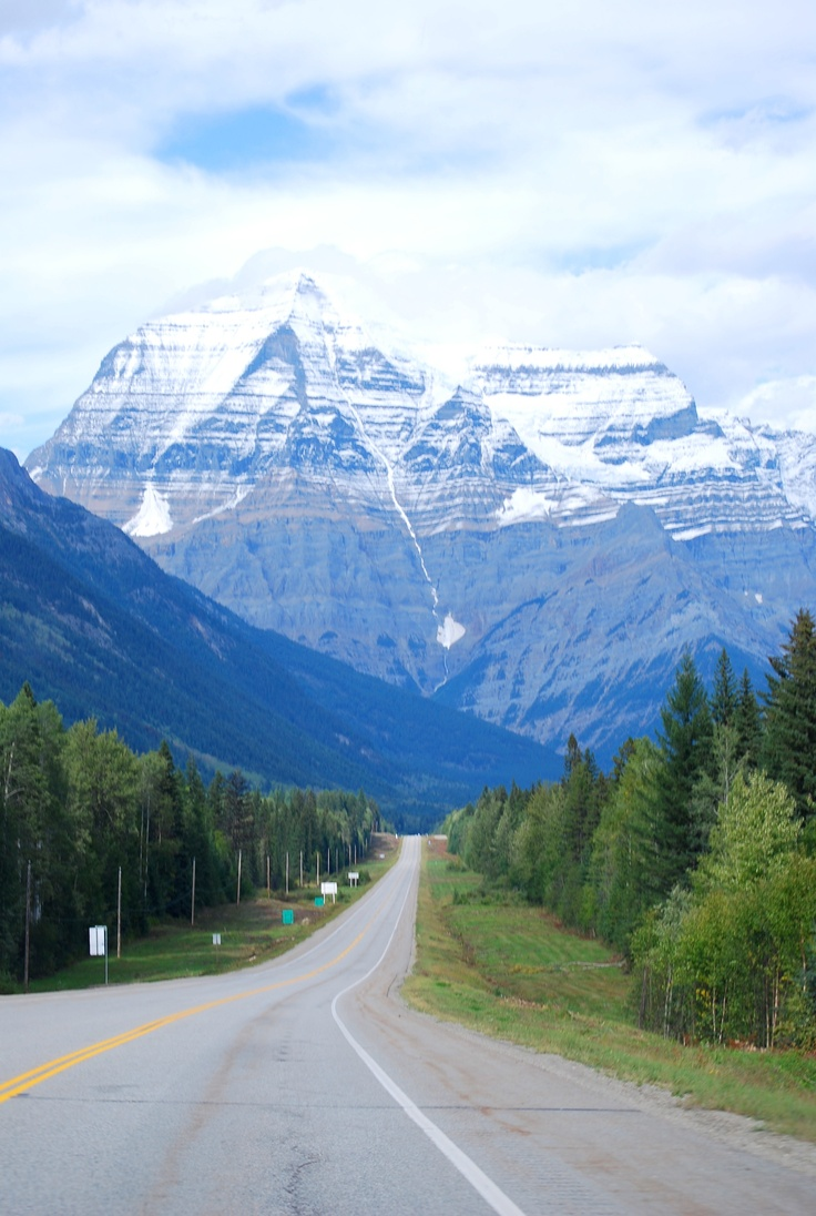 Mount Robson BC. By me.