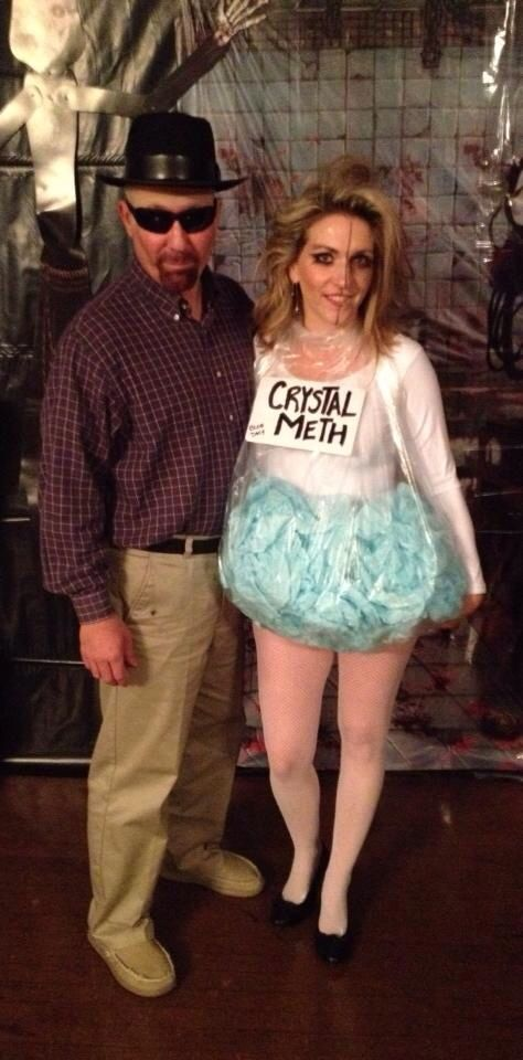Halloween costume. Breaking Bad. Walter White and crystal meth