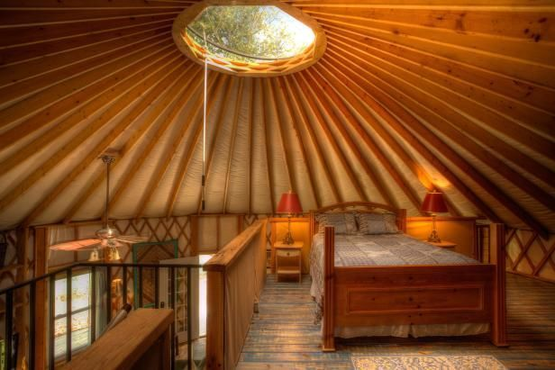 yurt loft - Google Search