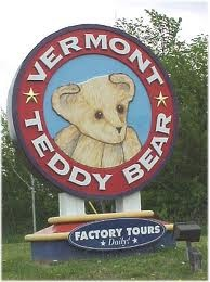 Vermont Teddy Bear Factory, I've drove by here so many times and I want to go in!!