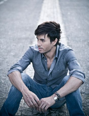 Enrique Iglesias ..he can be my hero any day ;)