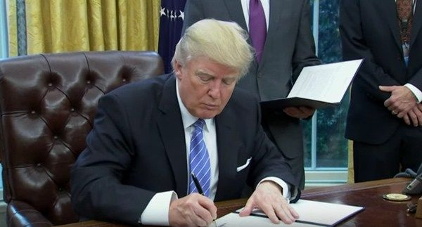 Trump Signs Executive Order Giving Federal Contractors License to Discriminate Against LGBT Workers