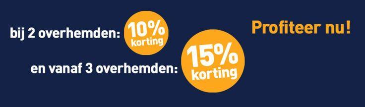 Aanbieding kortinsgscode: speciale mouwlengte 7 overhemden voor mannen die houden van extra lange mouwen. http://mouwlengte7.com/