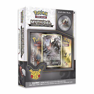 Pokemon Darkrai Mythical Collection Box TCG - Factory Sealed - GENERATIONS
