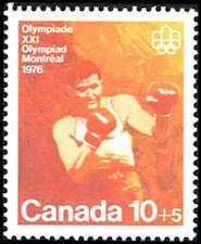 Canada B8 Stamp - Olympic Boxing Stamp - NA C B8-2 MNH