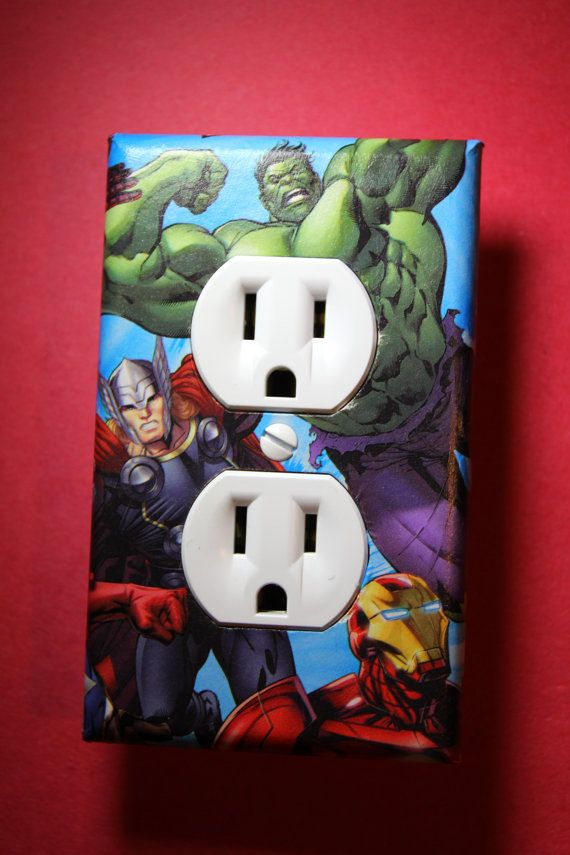 Avengers Captain America Thor hierro hombre Hulk por ComicRecycled