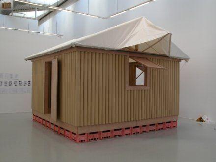 Paper Log House by Shigeru Ban http://www.shigerubanarchitects.com/