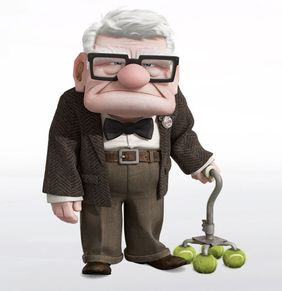 Carl Fredricksen  Pixar Studios  May 29, 2009  Up  Henry II Insp.